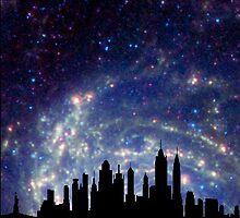 New York Sky by Kiipleny