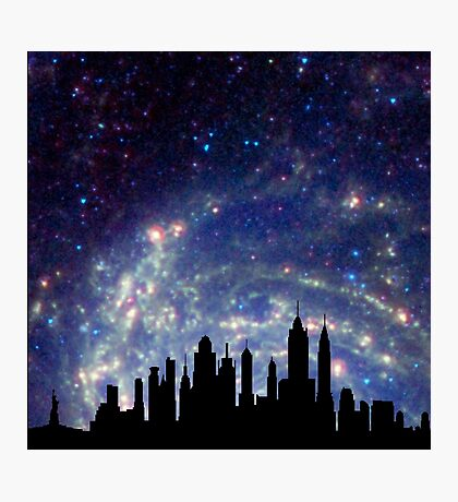 New York Sky Photographic Print