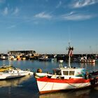 Bridlington harbour in summer light by StephenRB