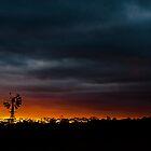 Sunset before work. by Darren  Rooney