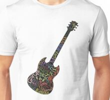 Guitar Typology Unisex T-Shirt