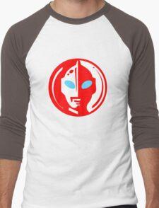 Ultraman  Men's Baseball ¾ T-Shirt