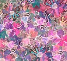 Marbelled Garden by Nikkistrange