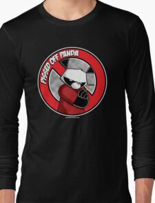 Pissed OFF Panda Logo Long Sleeve T-Shirt