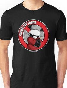 Pissed OFF Panda Logo Unisex T-Shirt