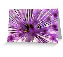 life exploded Greeting Card