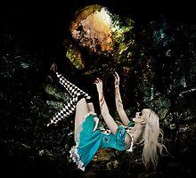Falling Alice by Violeta Pérez Anzorena