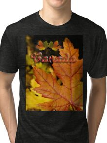 Ties of Love ~ Canada Day Tri-blend T-Shirt