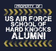 School of Hard Knocks - Air Force - Dark Colors by LatinaVets