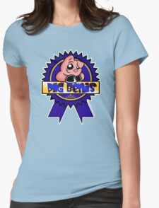 PBR: Pig bENIS Ribbon Womens Fitted T-Shirt