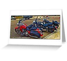 Harleys Greeting Card