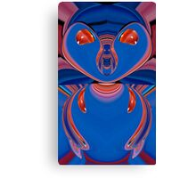 blue ALF Canvas Print