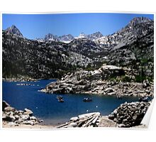 Lake Of The Sierras Poster