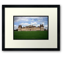 Blenhiem Palace , Stately Home Framed Print