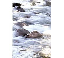 Water Rushing By At Gore Creek  Photographic Print