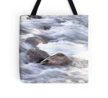 Water Rushing By At Gore Creek  Tote Bag