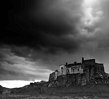 Lindisfarne Castle from the North by Harry Purves