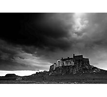 Lindisfarne Castle from the North Photographic Print