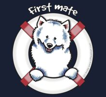 Samoyed :: First Mate One Piece - Short Sleeve