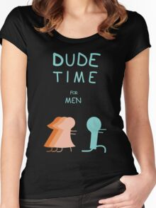 "Regular Show ""Dude Time"" Women's Fitted Scoop T-Shirt"