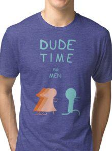 """Regular Show """"Dude Time"""" Tri-blend T-Shirt"""