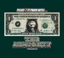 Pissed OFF Panda Hates the Almighty Dollar by Frankenstylin