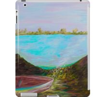 A Boat and a Seamless Sky iPad Case/Skin