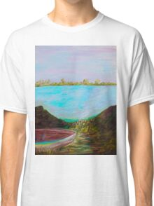 A Boat and a Seamless Sky Classic T-Shirt