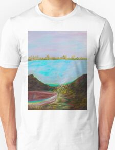 A Boat and a Seamless Sky T-Shirt