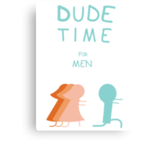 "Regular Show ""Dude Time"" Canvas Print"