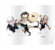 Mitt Romney Wins Republican Nomination Poster
