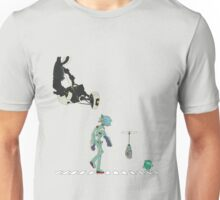 Robot Crosswalk  Unisex T-Shirt
