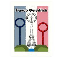 France Quidditch Art Print