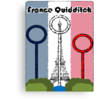 France Quidditch Canvas Print