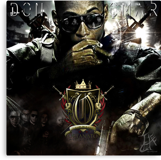 Graphic Design for Don Omar mixtape  by HexEffect