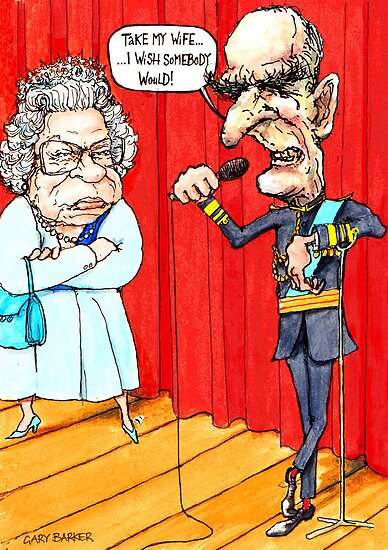 Prince Philip's Stand Up by GaryBarker