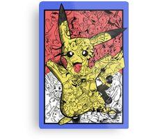 Pokémontage Metal Print
