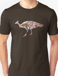 Colourful Peacock  Unisex T-Shirt