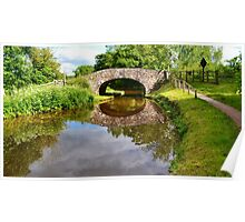 Bridge 162, Monmouthshire & Brecon Canal Poster