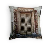 Tribute to a Craftsman Throw Pillow