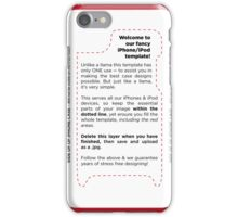 Smile, Happiness is Contagious! iPhone Case/Skin