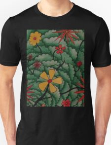 Flowers in her hair, no.2 Unisex T-Shirt