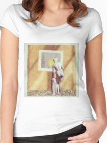 What a veiw Women's Fitted Scoop T-Shirt