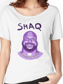 Shaquille O'Neal Lakers Women's Relaxed Fit T-Shirt