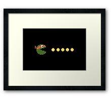 Teenage Mutant Ninja Pacman Framed Print