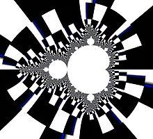 Mandelbrot XVI - Black by Rupert Russell
