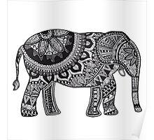 MANDALA ELEPHANT Poster