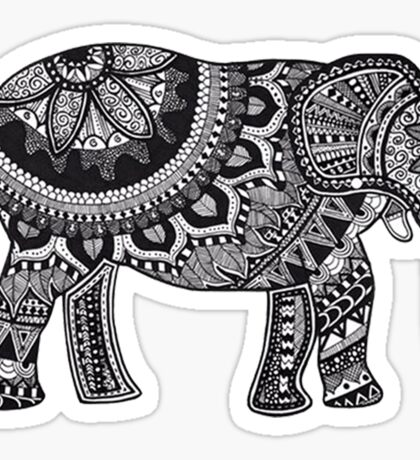 MANDALA ELEPHANT Sticker