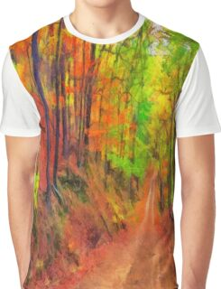 My Fall Palette Graphic T-Shirt