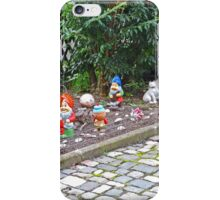 Gnoming on the Footpath iPhone Case/Skin